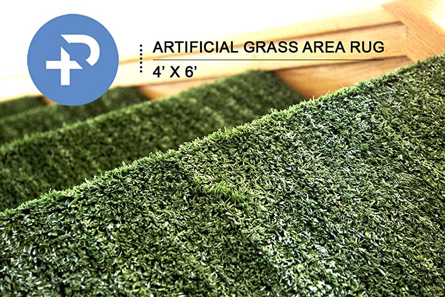 artificial grass area rug perfect color and sizing for any uses and decorations grass height 10mm size 4 x 6 ft