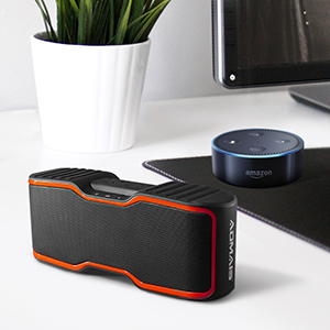 33  AOMAIS Sport II Portable Wireless Bluetooth Speakers 20W Bass Sound, 15H Playtime, Waterproof IPX7, Stereo Pairing, Durable Design Backyard, Outdoors, Travel, Pool, Home Party Orange 1fc7fb36 e7f8 4ca3 906e 7fa53a66ad06