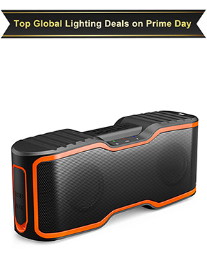 2  AOMAIS Sport II Portable Wireless Bluetooth Speakers 20W Bass Sound, 15H Playtime, Waterproof IPX7, Stereo Pairing, Durable Design Backyard, Outdoors, Travel, Pool, Home Party Orange 6530108a 8633 4b17 b2d0 2286c1abe712