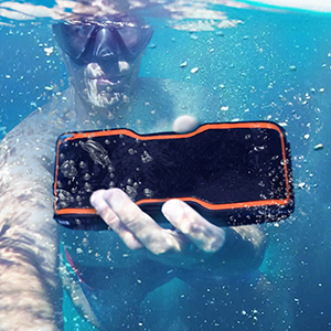 Waterproof Bluetooth Speaker With Stereo Pairing