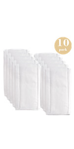 10 pack 6ply cloth diapers