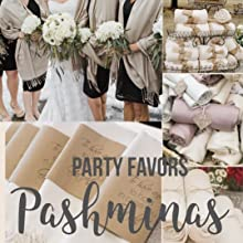 best party favors pashminas