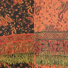 reversible two side pashmina