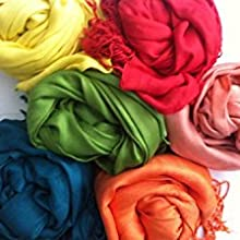 MORE COLOR CHOICES OF PASHMINA