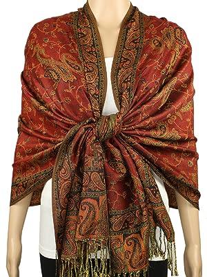 exotic vintage paisley pashminas