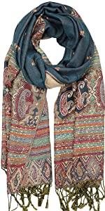 Reversible Bohemian Pashmina Shawl