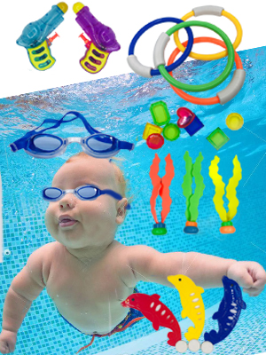 Underwater Swimming/Diving Pool Toy
