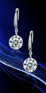 Swaorovski Crystal Earrings