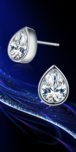 Swarovski Earrings Studs Cubic Zirconia Earrings Gifts for Women Christmas earrings hypoallergenic