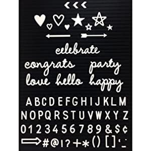 amazon com letter board letters and words set 340 pieces
