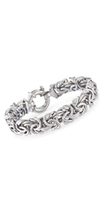 Sterling Silver Byzantine