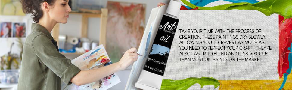 Pincel Profesional para Pintar y Pintar el Pelo Pintura /óleo CYNDIE para Dibujar Gouache
