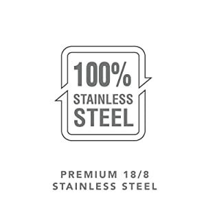 18/8 Stainless Steel