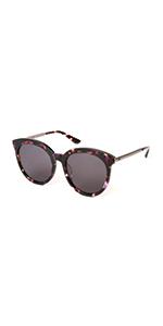 a5576288430 Amazon.com  MUJOSH Mirrored Cat Eye UV 400 Fashion Sunglasses for ...