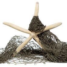 Net fishing Finger Starfish Ornament real ocean sea beach wedding crush home decor decorate