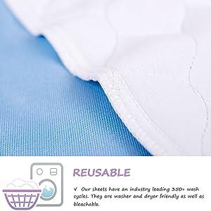 waterproof sheet mattress waterproof pad bed protector for kids