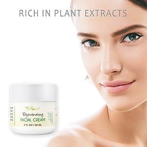 dry skin wrinkle cream, rose oil, anti wrinkle, face moisturizer, skin care, organic skincare, aloe