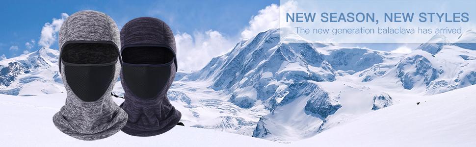 ski balaclava face mask