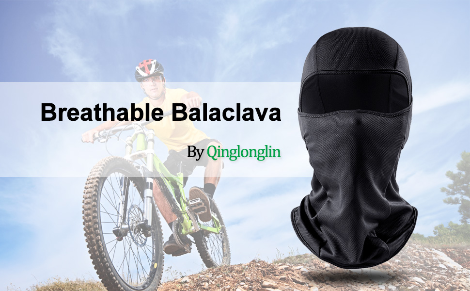 Cycling QINGLONGLIN Balaclava Motorcycle Outdoor Sports Windproof Mask Adjustable Face Head Warmer for Skiing
