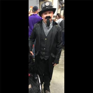 customer's photo,black costume