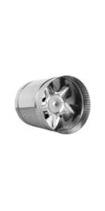 """6"""" Inline Fan Exhaust and Intake Blower With Variable Speed Controller AC Motor Brushless Grow Tent"""