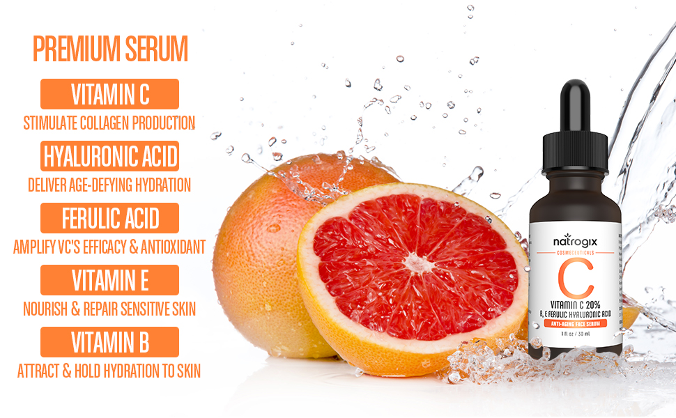 Super Anti-aging Vitamin C Serums Formula for Your Skin