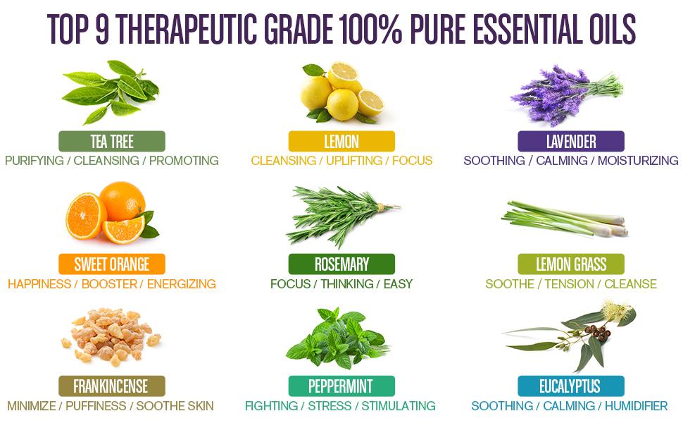 aromatherapy peppermint oil lavender essential oil oil diffuser