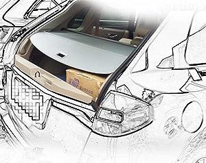 Amazon.com: Kaungka - Funda de carga para Audi Q7 2018 ...