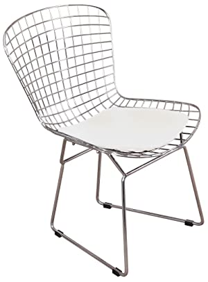 Harry Bertoia Transformed Industrial Wire Rods Into A New Furniture Form  And Created The Iconic Wire Chair. Our Replica Harry Bertoia Wire Chairs ...