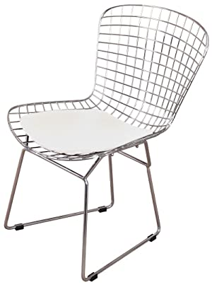 Amazon Com Mlf Harry Bertoia Wire Side Chair Set Of 4