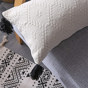 woven nook decorative throw pillows boho throw pillow pillows modern pillow