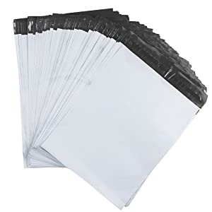 Amazon.com: 9 x 12 inch Color Blanco Poly sobres envío ...