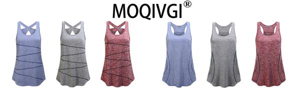MOQIVGI Workout Tops