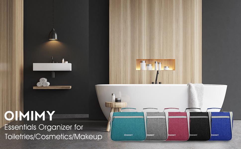 Amazon.com   Hanging Toiletry Bag Travel Bathroom Cosmetic Organizer ... 5d6f663b2bf0e