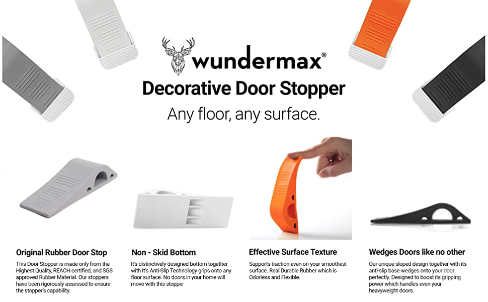 Wundermax Decorative Door Stopper