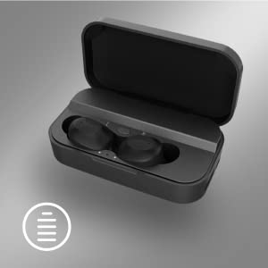 True Wireless Stereo IPX5 TWS Bluetooth Headphones with 2600mAh Charge Case