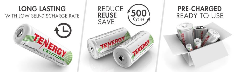 reuseable AA battery
