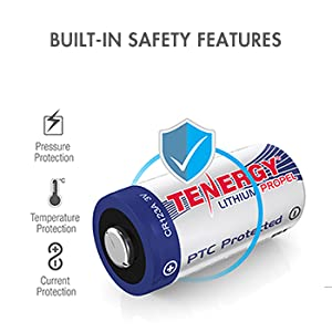 Built-in safety features pressure, temperature, and current protection