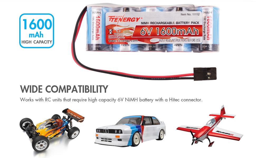 1600mAh high capacity battery