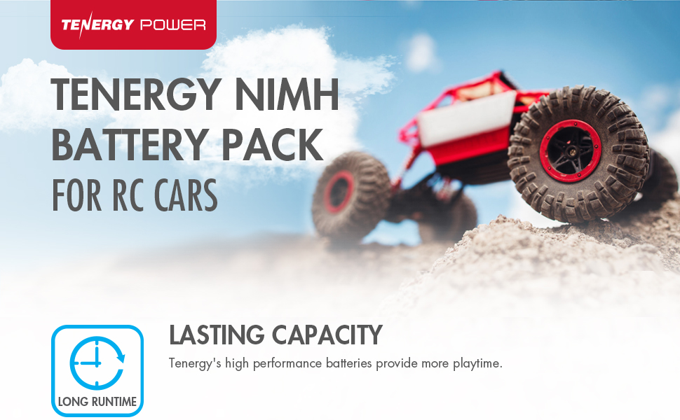 Tenergy Nimh battery pack for RC cars