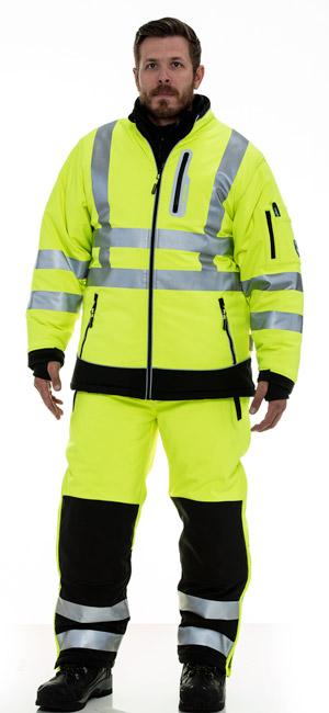 refrigiwear 0796R Hivis Extreme Softshell Jacket