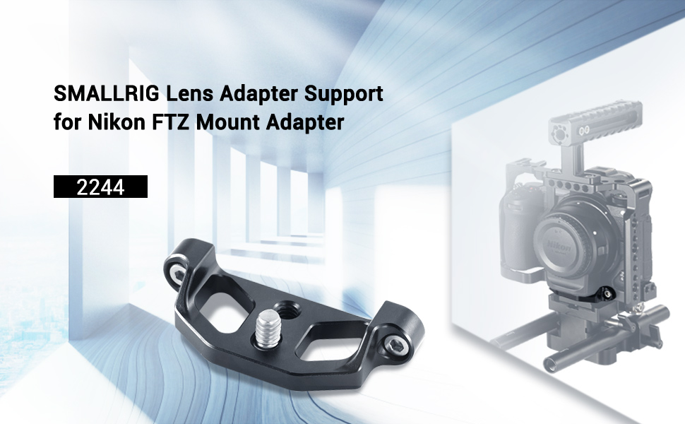 SmallRig Lens Adapter Support for Nikon FTZ Mount Adapter 2244
