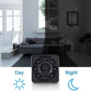 mini security camera hidden wifi night vision