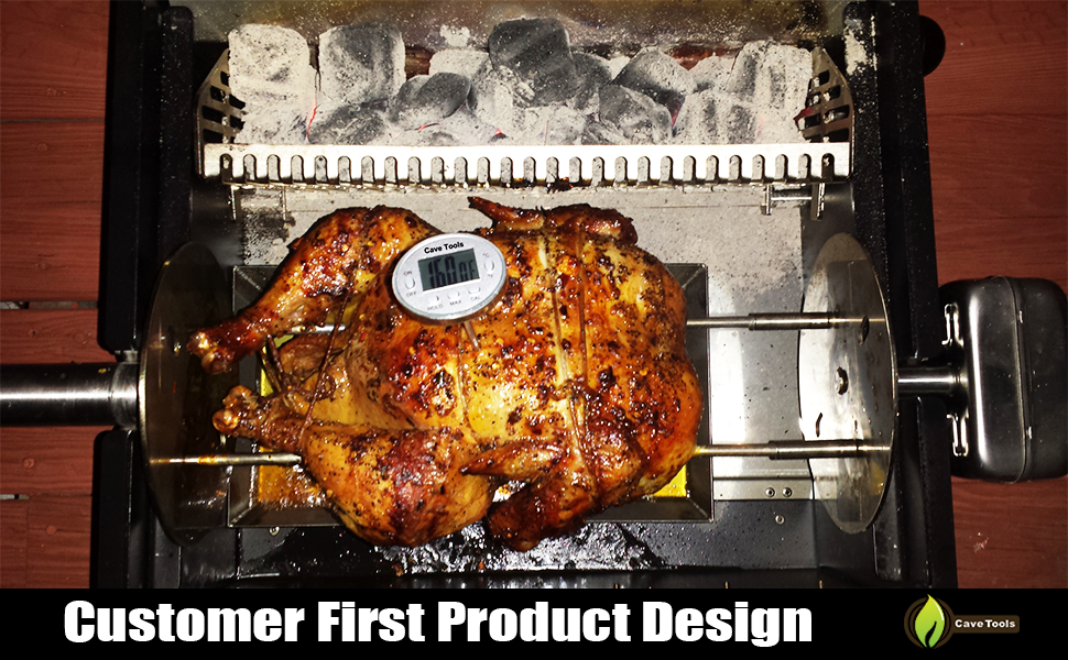 Instant Read Digital BBQ Thermometer