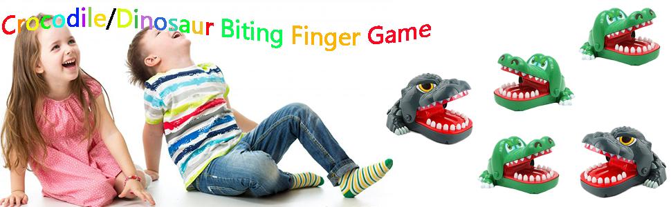 Dinosaur Biting Finger Gam
