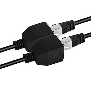 lan cable splitter 1 to 2