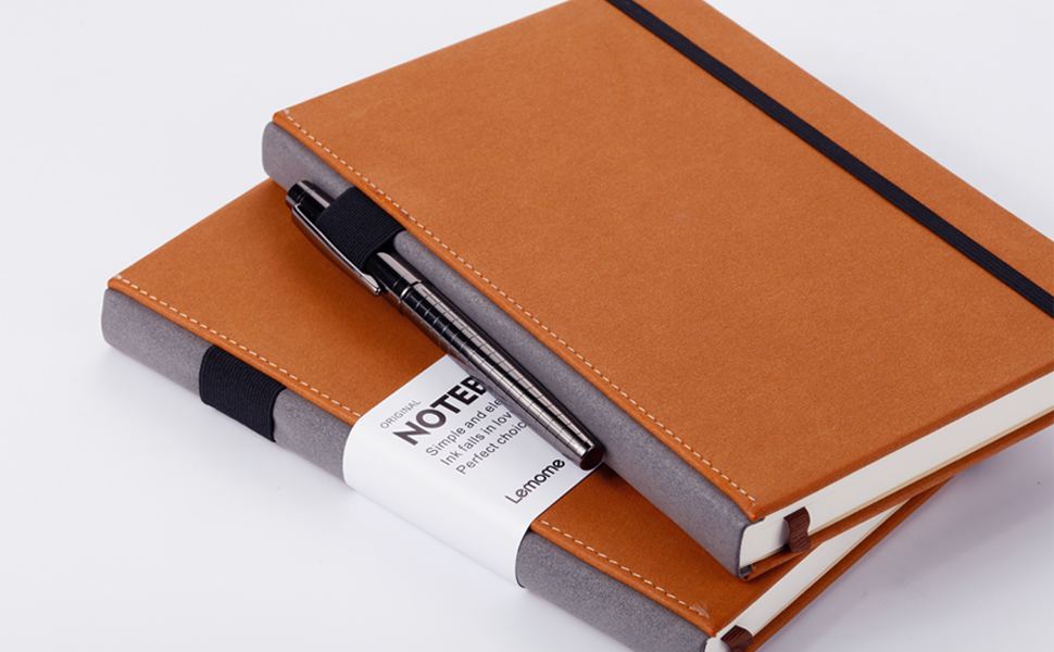 Amazon.com : Thick Classic Notebook With Pen Loop