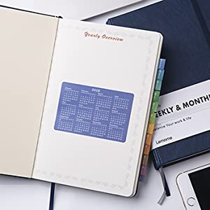 Amazon.com: Planificador semanal y mensual + pegatinas de ...