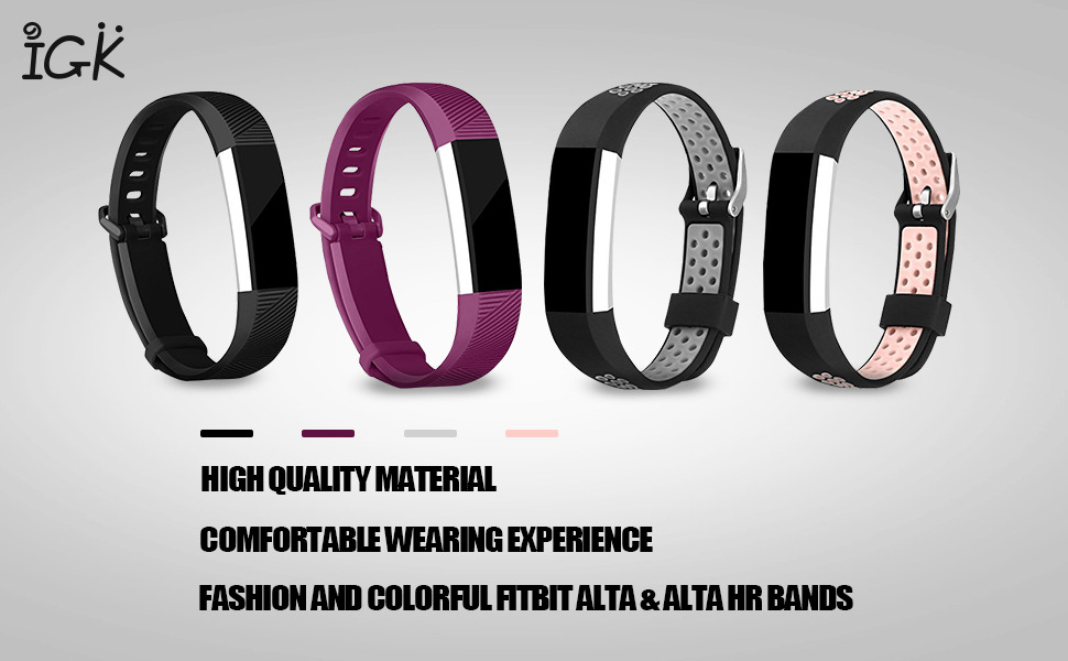 Smart Watch Accessories - Fitbit Alta Bands and Fitbit Alta HR Bands
