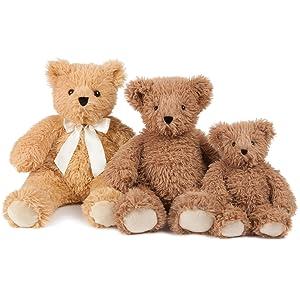 amazon com vermont teddy bear super soft cuddly teddy bear